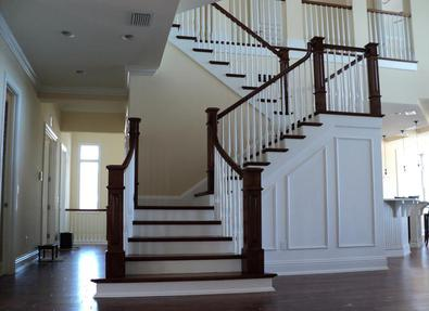 Each Staircase Is Built From The Finest Available Woods And Manufactured In  Our Shop. Stair Parts Are Also Available ...